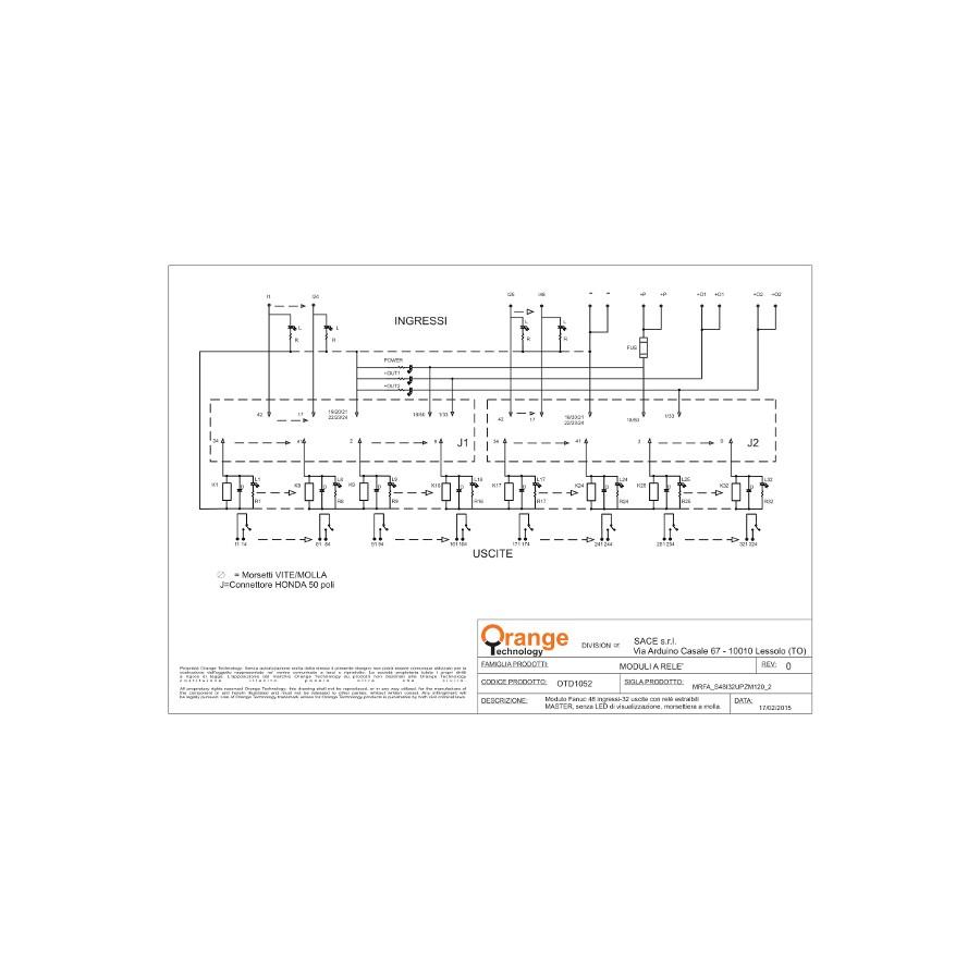 D1052 Sace Srl Cnc Fanuc Honda Connector Diagram Display All Pictures